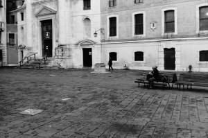 ライカM5でベネチアの広場