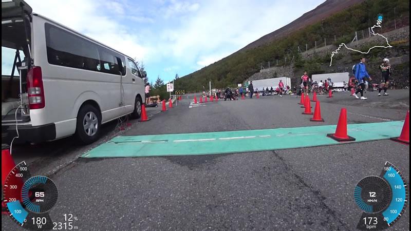 キング・オブ・ヒルクライム富士山、完走したぞー!