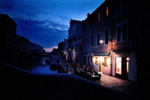 ベネチアの夕暮れ