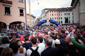 ジロデイタリア2014の第18ステージ、スタート地点