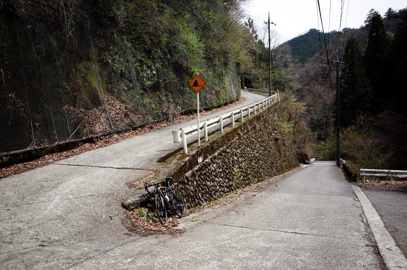 風張林道の入口