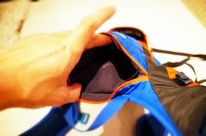 シマノU-2上部のポケット
