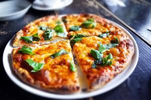 山猫軒のピザ