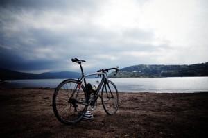 スペシャライズドターマックで山中湖