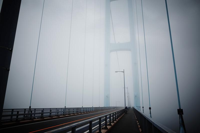 安芸灘大橋は視界ゼロ!