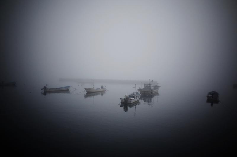 しまなみ海道突然の霧!