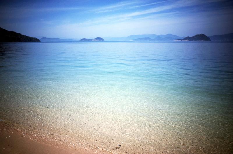 盛港付近は沖縄みたい!