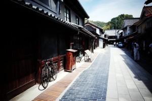 竹原の旧市街はマッサンの舞台だそうな
