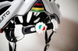 ヘルメット後頭部の調整機能
