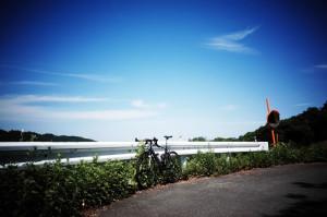 ロードバイクで入山峠に挑戦