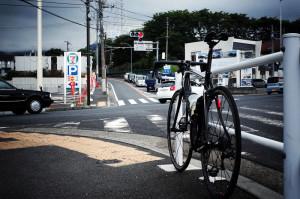 ヤビツ峠のスタート地点・名古木の交差点