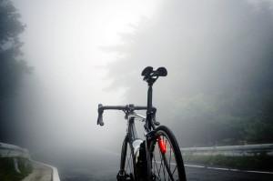 霧が出たのは頂上付近のみ