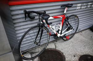 デゲンコルプさんの自転車を修理に出しました