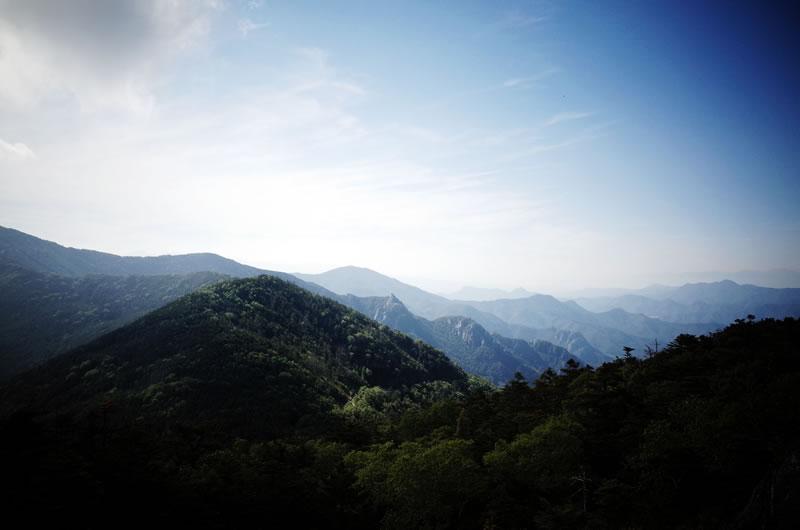 標高2,000m超の景色は最高!