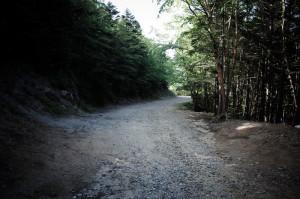大弛峠から川上村へは超ダート