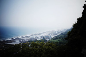 久能山をはじめ、急峻な山が身近にいっぱい