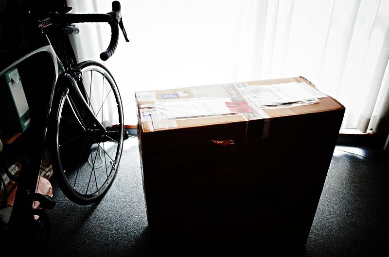 我が家に届いたデカい箱
