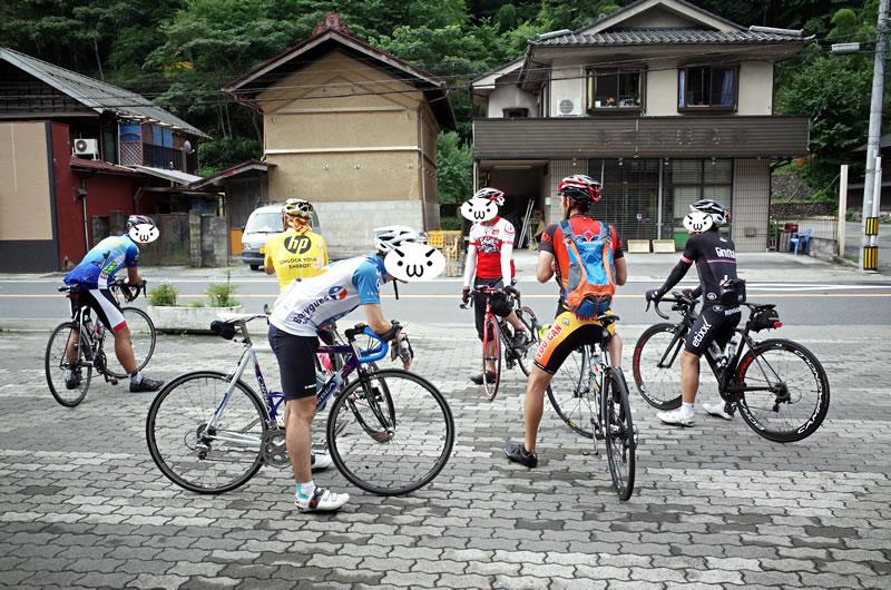 8月の寿司屋さんライドが人生初のグループライド!