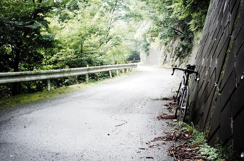驚くほどきれいな有間峠へのアプローチ