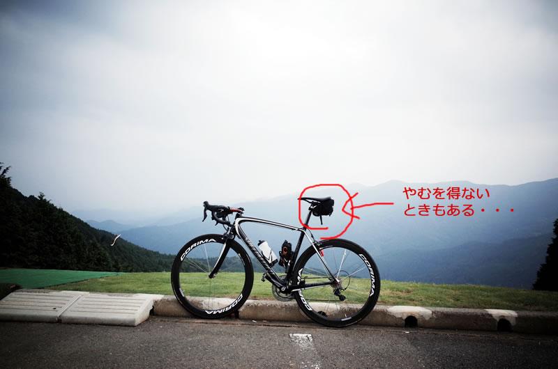 ロードバイクで荷物をどう運ぶ?
