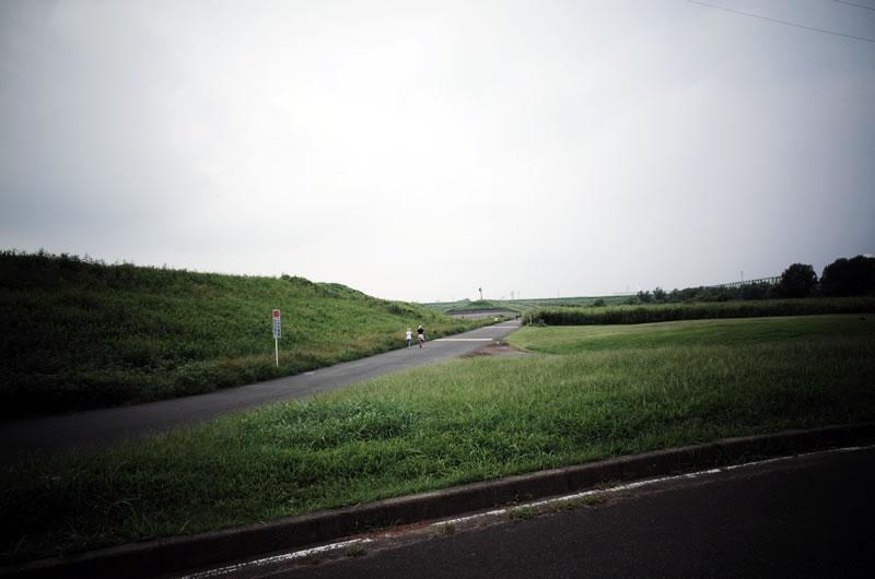 彩湖はロードバイクの練習にピッタリ