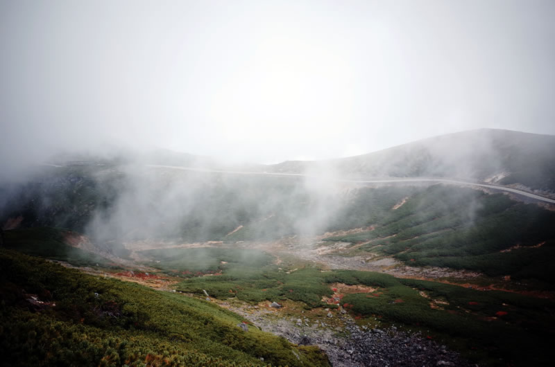 魔王岳から乗鞍スカイライン