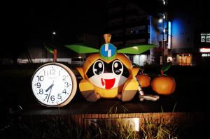 矢野口駅の謎のオブジェ