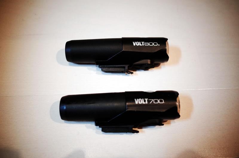 Volt 800は光量が増加!