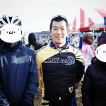 佐野選手と記念撮影!!