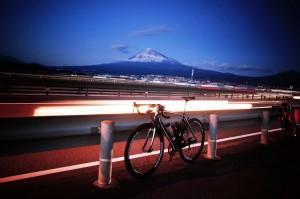 ターマックと富士山