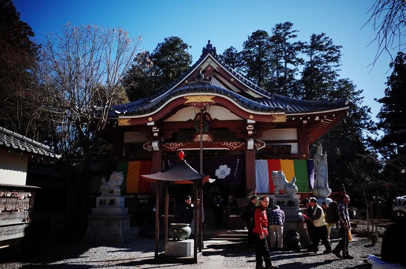 子ノ権現天龍寺の本堂