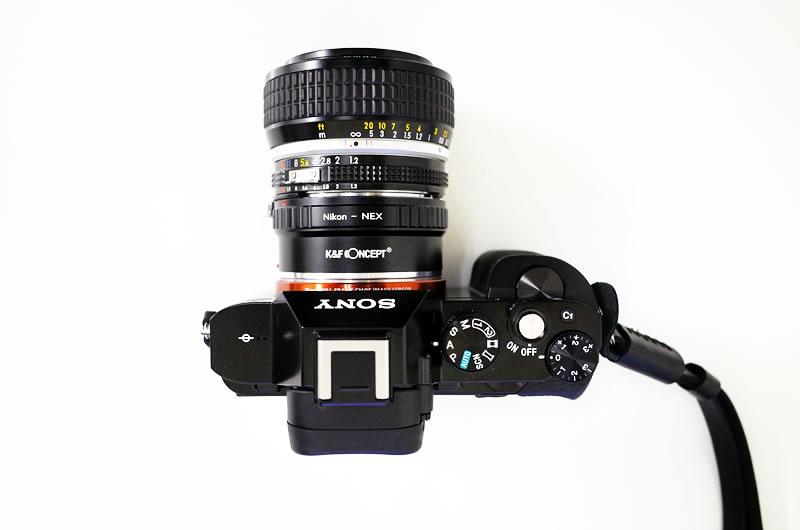 ソニーα7 + ニッコール 50mm F1.2
