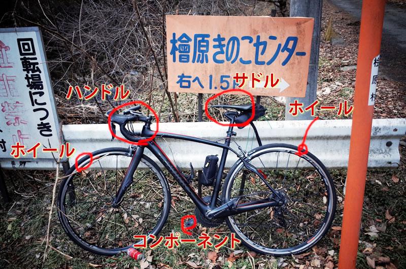 ロードバイクの軽量化すべきポイント