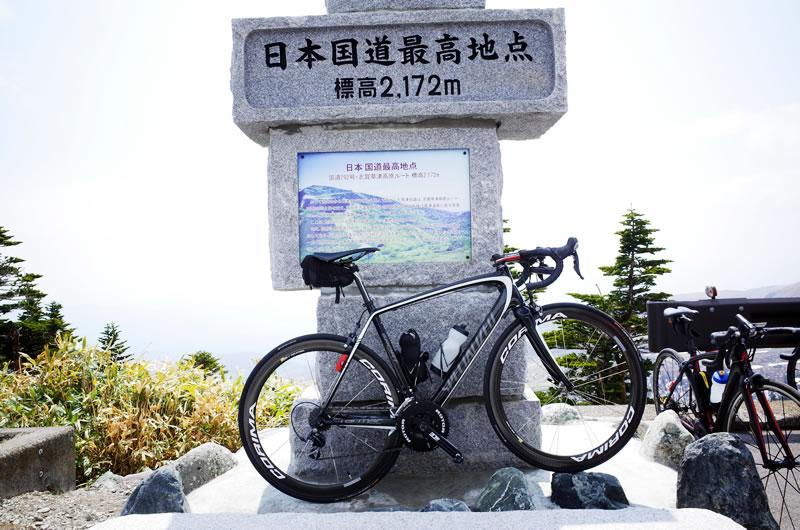 今年もターマックで日本国道最高地点に到着!