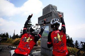 渋峠にロードバイクで上る!