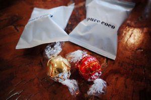 すごい美味しいチョコレートをいただいてしまった(;´Д`)