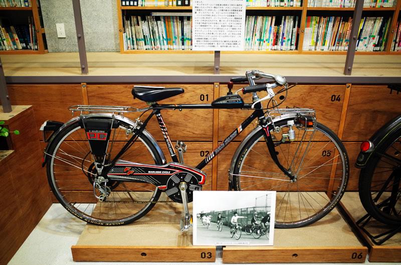 こんな懐かしい自転車も!