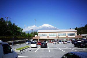 あざみラインで富士山に上る