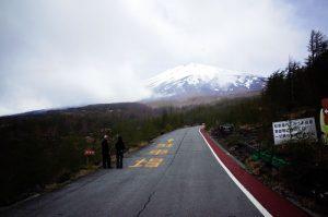 富士山5合目に到着! しかしゴール間違えた!