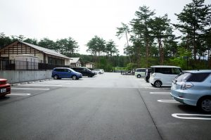 かなりの台数が駐車できます