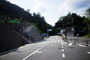 小菅村方面に下れば、さらなるデスライドが・・・