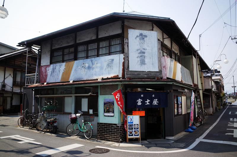 富岡製糸場近くは素敵な佇まいの街並みが