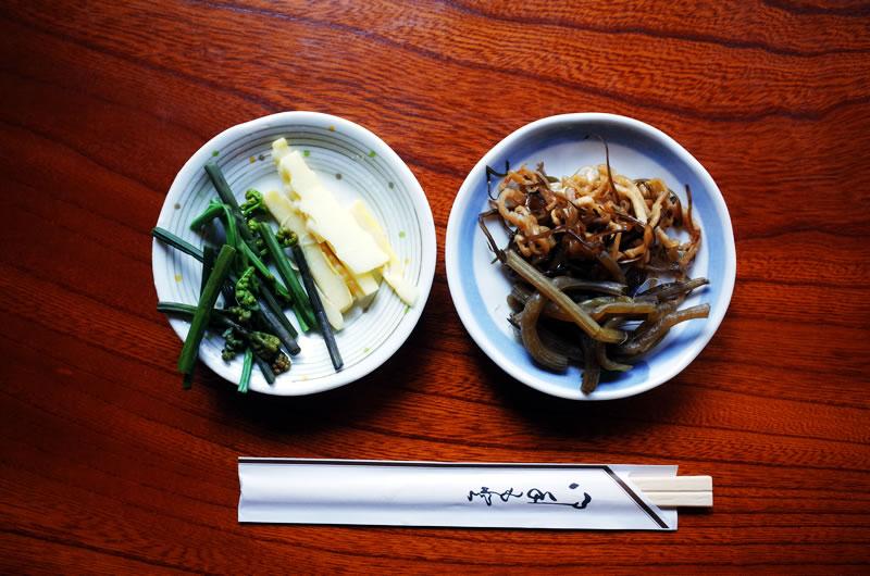 那須庵でいただいた漬物。美味い!!