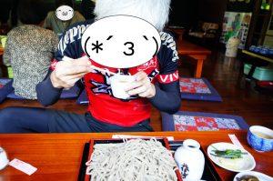 那須庵の蕎麦で活力を取り戻す