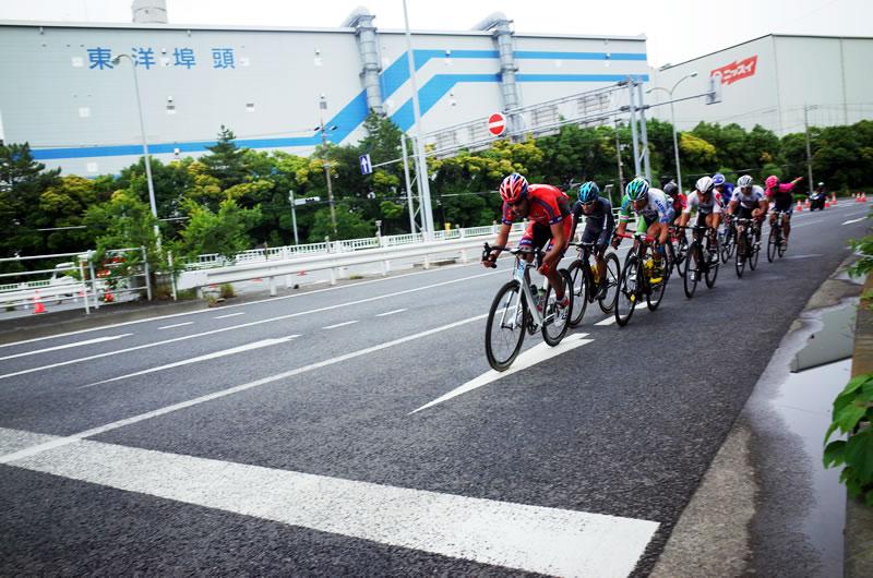 東京ステージの逃げ集団
