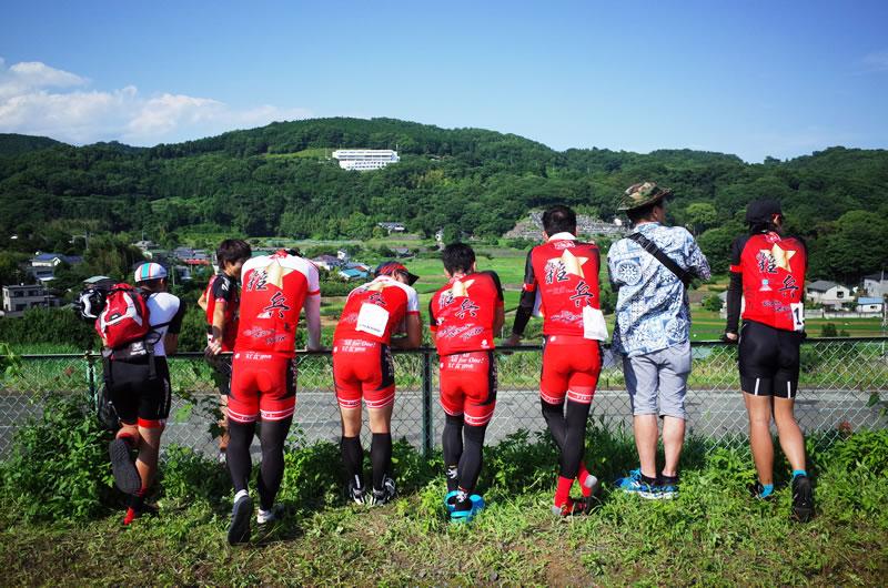 サイクルイベントで賑やかな一団がいたら、多分この人たちです(´_ゝ`)