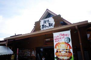 伊豆村の駅で地元の名産と出会う
