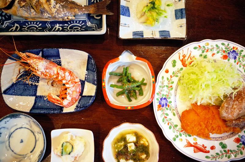 リゾートインTAKEMARUのご飯、マジ美味い!!