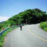 南伊豆は海沿いの山岳コースです