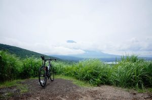 富士山と山中湖を一望できる大パノラマ